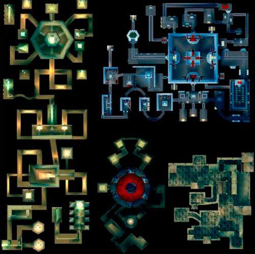 Карта Сумеречного Храма, места куда вы не раз отправитесь добывать в пв ресурсы
