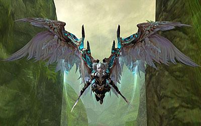 Крылья в игре Айон