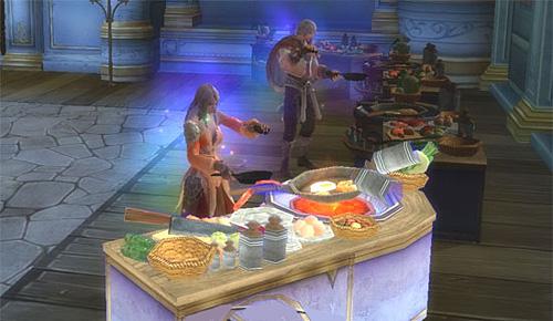 Прокачка кулинарного дела в aion