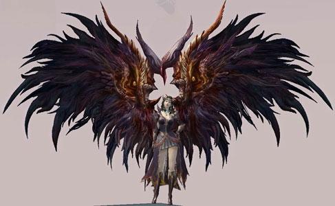 Крылья перо сигин Aion