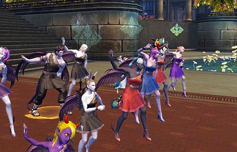 Танцы в айон