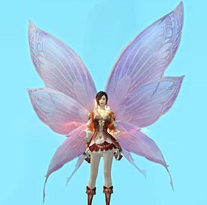 Крылья перо удачи Aion