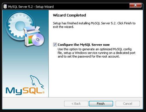 Установка Mysql для сервера Aion