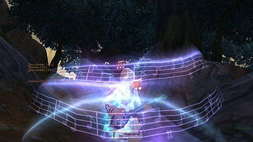 аллоды: умения барда способны убить противника очень быстро