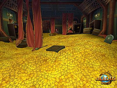 Купить золото Allods