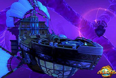 Корабль в аллодах онлайн