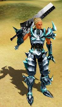 Где достать эту броню и меч, наш герой  нашел в базе «Кабала онлайн»
