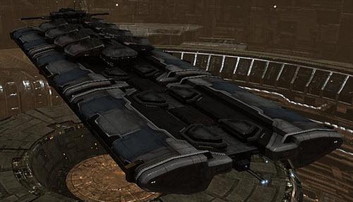 Eve промышленный корабль большого тоннажа Orca
