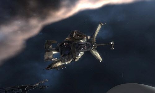 Ремонтный корабль Basilisk в Eve online