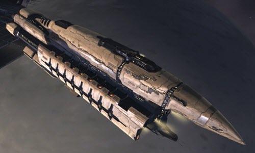 Eve линейный корабль Abaddon