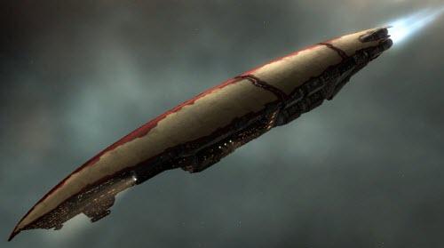 Eve корабль с гипердвигателем Ark