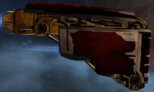 Ремонтный корабль Guardian в Eve online