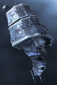 Еве промышленный корабль Badger
