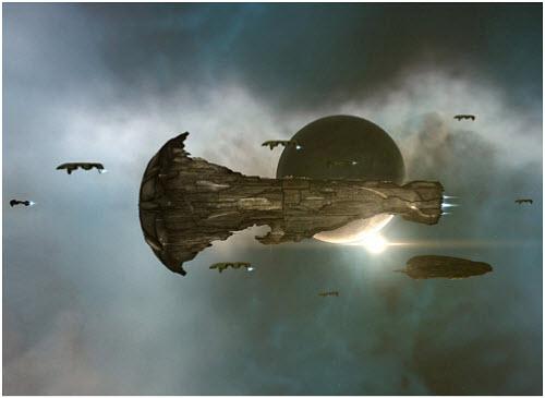 Титан. Дорогое эффективное оружие в битвах eve online