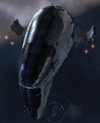 Eve online тяжелый заградительный корабль Devoter