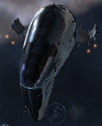 Eve тяжелый заградительный корабль Devoter