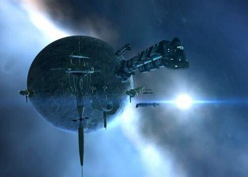 В Eve online существуют корабли разных размеров и предназначений
