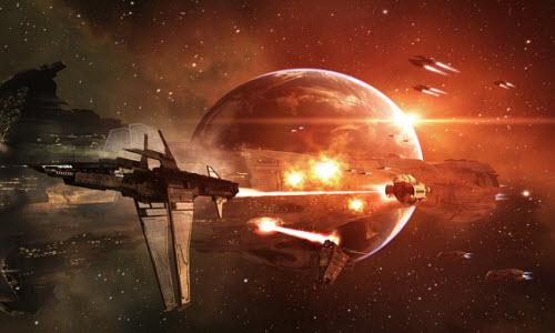Сражения в игре сопровождаются отличной графиков и эмоциями Eve