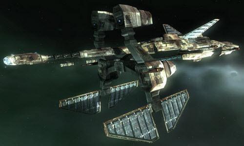 Eve корабль дальней разведки Rapier