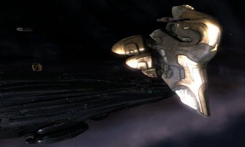 Eve online корабль электронного противодействия Keres