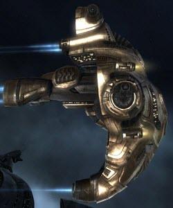 Eve корабль дальней разведки Arazu