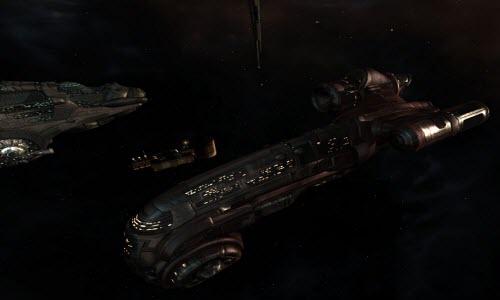 Ремонтный корабль Oneiros в Eve online