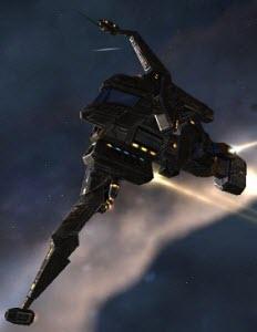Eve корабль электронного противодействия Kitsune