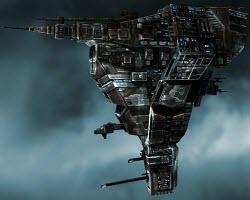 Eve online тяжелый заградительный корабль Broadsword