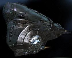 Еве линейный корабль Dominix