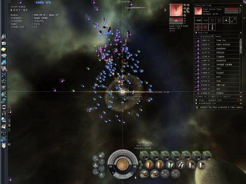 Уничтожение ПОСа в Eve online