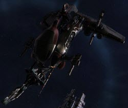 Eve перехватчик Ares