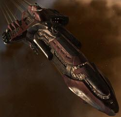 Eve тяжелый заградительный корабль Phobos