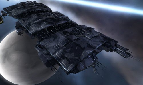 Eve корабль с гипердвигателем Rhea