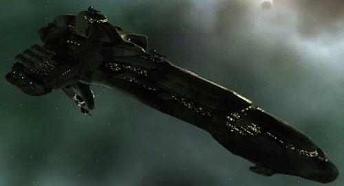 Eve тяжелый ударный корабль Deimos