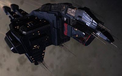Eve тяжелый заградительный корабль Onyx