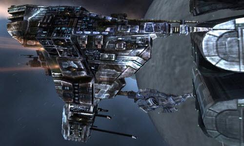 Eve тяжелый заградительный корабль Broadsword