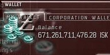 Небольшая сумма eve online?