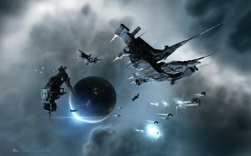 Прекрасная графика в Eve online привлекает все больше и больше новых пилотов