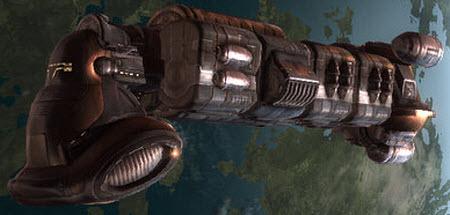 Еве транспортный корабль Viator