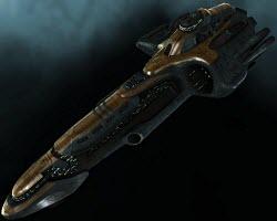 Eve тяжелый ударный корабль Adrestia