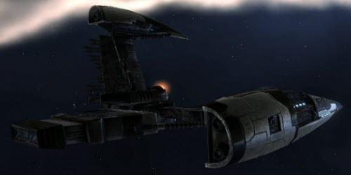 Eve корабль электронного противодействия Sentinel