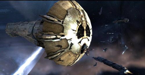 Для постройки корабля Аватар корпорации тратят около 3 месяцев в Eve online