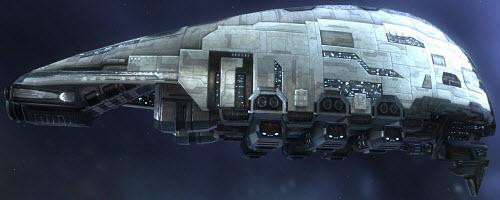 Еве транспортный корабль Prorator