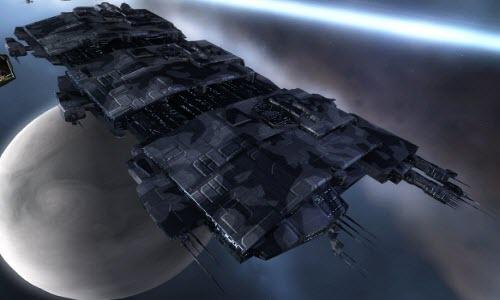 Еве онлайн грузовой корабль с гипердвигателем Rhea