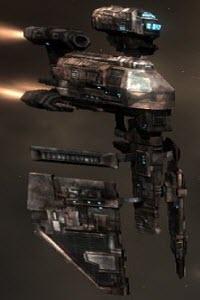 Eve корабль электронного противодействия Hyena