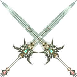Как сделать парные мечи