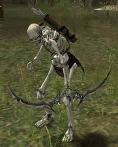 Скелет-разведчик в Lineage 2