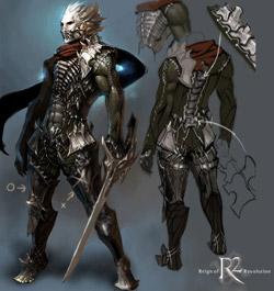 Концепт персонажа r2 online