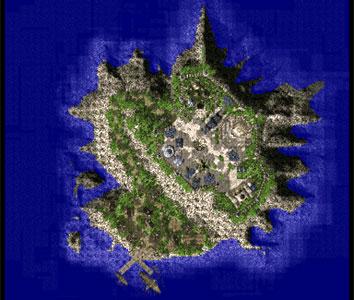 Карта острова Московая в ragnarok