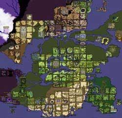 Карта Мира Рагнарок